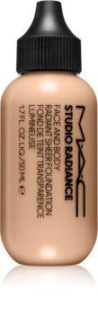 MAC Cosmetics  Studio Radiance Face and Body Radiant Sheer Foundation lekki podkład do twarzy i ciała