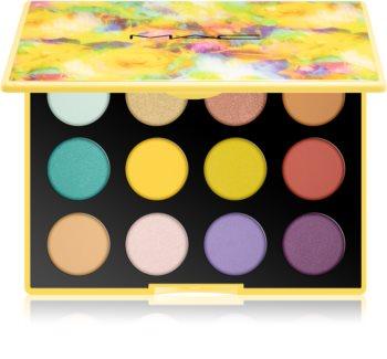 MAC Cosmetics  Botanic Panic Eye Shadow x 12 szemhéjfesték paletta