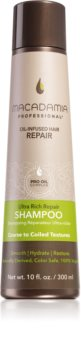 Macadamia Natural Oil Ultra Rich Repair дълбоко регенериращ шампоан за силно увредена коса