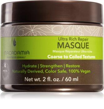 Macadamia Natural Oil Ultra Rich Repair máscara profundamente regeneradora para cabelo danificado