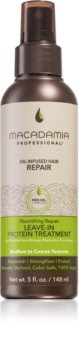 Macadamia Natural Oil Nourishing Repair Vahvistava Jätettävä Hoito Vaurioituneille Hiuksille