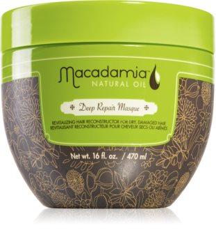 Macadamia Natural Oil Deep Repair mascarilla de regeneración profunda para cabello seco y dañado
