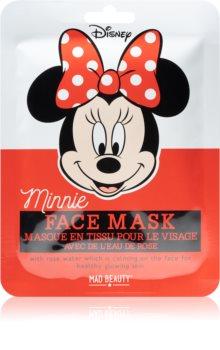 Mad Beauty Minnie rozjasňující plátýnková maska s výtažkem ze šípkové růže