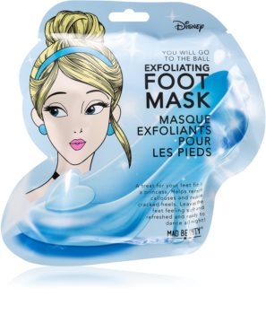 Mad Beauty Disney Princess Cinderella ексфолираща маска за крака