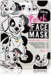 Mad Beauty Animals Patch maska nawilżająca w płacie Z olejkiem kokosowym.