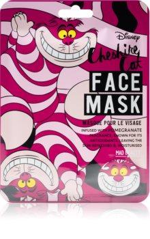 Mad Beauty Animals Cheshire Cat nawilżająca maseczka w płacie