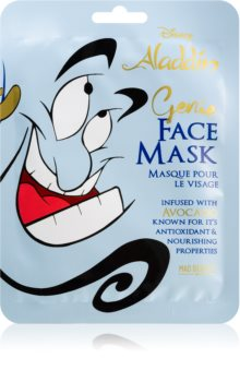 Mad Beauty Aladdin Genie nourishing face sheet mask With Avocado