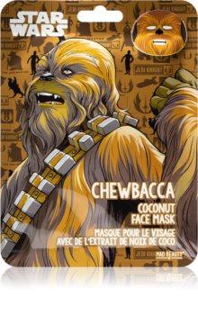 Mad Beauty Star Wars Chewbacca hydratační plátýnková maska s kokosovým olejem