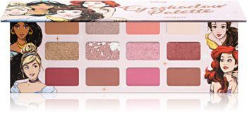 Mad Beauty Disney Princess Palette paletka očných tieňov
