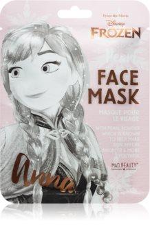 Mad Beauty Frozen Anna rozjasňující plátýnková maska