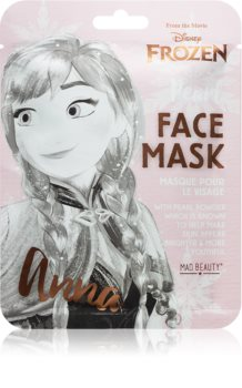 Mad Beauty Frozen Anna озаряваща платнена маска
