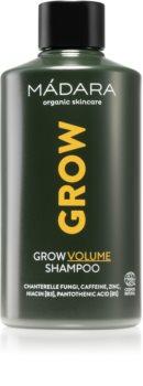 Mádara Grow šampon pro objem jemných vlasů