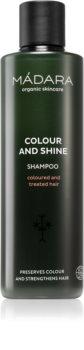 Mádara Colour and Shine verhelderende en verstevigende shampoo voor geverfd haar