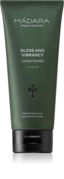 Mádara Gloss and Vibrancy kondicionér pro posílení vlasů