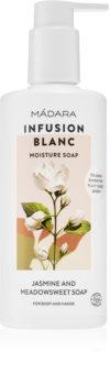 Mádara Infusion Blanc vyživující sprchový gel
