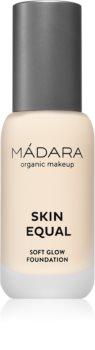 Mádara SKIN EQUAL FOUNDATION élénkítő make-up a természetes hatásért SPF 15