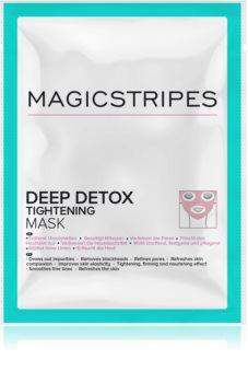 MAGICSTRIPES Deep Detox детоксикираща маска със стягащ ефект
