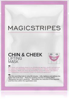 MAGICSTRIPES Chin & Cheek straffende Hydrogelmaske für das Kinn und das Gesicht