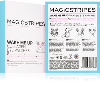 MAGICSTRIPES Wake Me Up maschera al collagene contorno occhi contro i segni di stanchezza