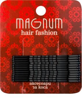 Magnum Hair Fashion lasnice za lase črna