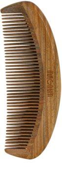Magnum Natural Wooden Comb Guaiacum Wood
