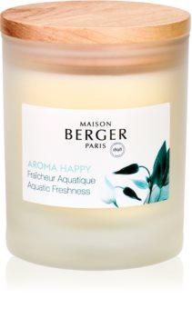 Maison Berger Paris Aroma Happy lumânare parfumată  (Aquatic Freshness)