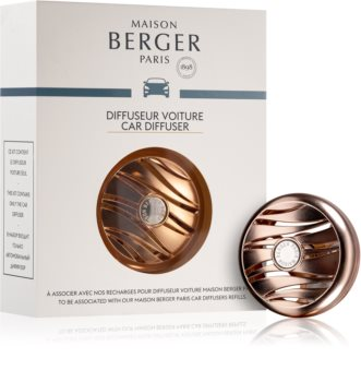Maison Berger Paris Car Blissful držiak na vôňu do auta clip (Rose Gold)