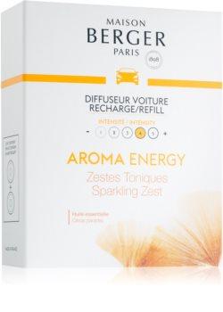 Maison Berger Paris Car Aroma Energy parfum pentru masina Refil (Sparkling Zest)