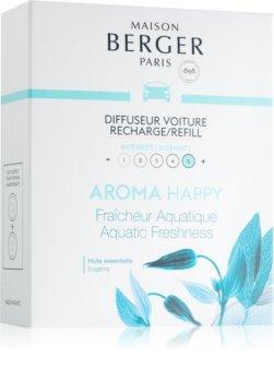 Maison Berger Paris Car Aroma Happy illat autóba utántöltő (Aquatic Freshness)
