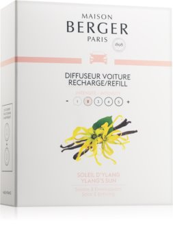 Maison Berger Paris Car Ylang's Sun illat autóba utántöltő