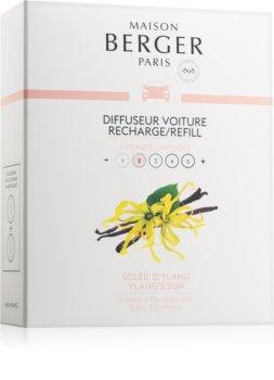 Maison Berger Paris Car Ylang's Sun parfum pentru masina Refil