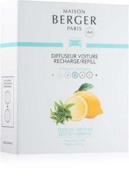 Maison Berger Paris Car Zest Of Verbena vôňa do auta náhradná náplň