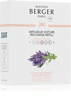 Maison Berger Paris Car Lavender Fields vůně do auta náhradní náplň
