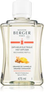 Maison Berger Paris Mist Diffuser Orange Cinnamon náplň do elektrického difuzéru