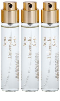 Maison Francis Kurkdjian Aqua Universalis Forte Eau de Parfum unissexo 3 x 11 ml recarga