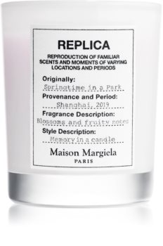 Maison Margiela REPLICA Springtime in a Park illatos gyertya