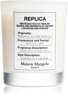 Maison Margiela REPLICA Whispers in the Library bougie parfumée