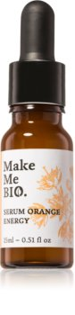 Make Me BIO Orange Energy Brightening Face Serum with Moisturizing Effect