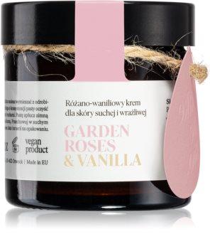 Make Me BIO Garden Roses & Vanilla Nourishing Moisturizing Cream for Dry to Very Dry Sensitive Skin