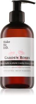 Make Me BIO Garden Roses Sapone liquido per le mani  con dosatore
