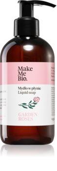 Make Me BIO Garden Roses Plejende og flydende håndsæbe Med pumpe