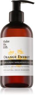 Make Me BIO Orange Energy sapone liquido nutriente con dosatore