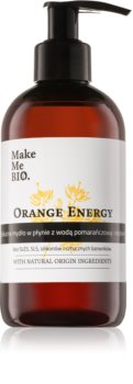Make Me BIO Orange Energy vyživující tekuté mýdlo s pumpičkou