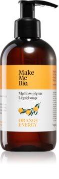 Make Me BIO Orange Energy Nährende Flüssigseife mit Pumpe