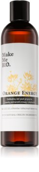 Make Me BIO Orange Energy Opfriskende brusegel med fugtgivende virkning
