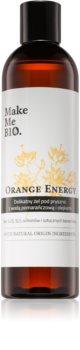 Make Me BIO Orange Energy освежаващ душ гел с хидратиращ ефект