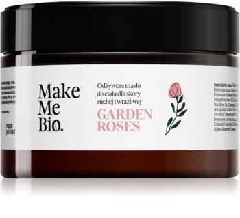 Make Me BIO Garden Roses vyživující tělové máslo