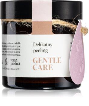 Make Me BIO Gentle Care crema delicata pentru exfoliere cu migdale pentru piele uscata spre sensibila