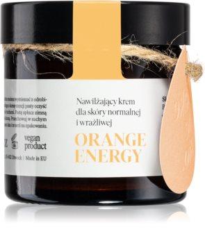 Make Me BIO Orange Energy crema hidratanta pentru ten normal către piele sensibilă