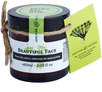 Make Me BIO Face Care Beautiful Face könnyű nappali krém a bőrhibákra